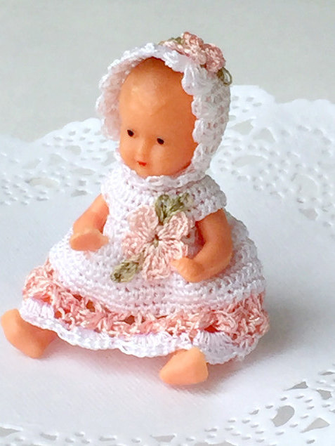 Dollhouse mini doll from childhood