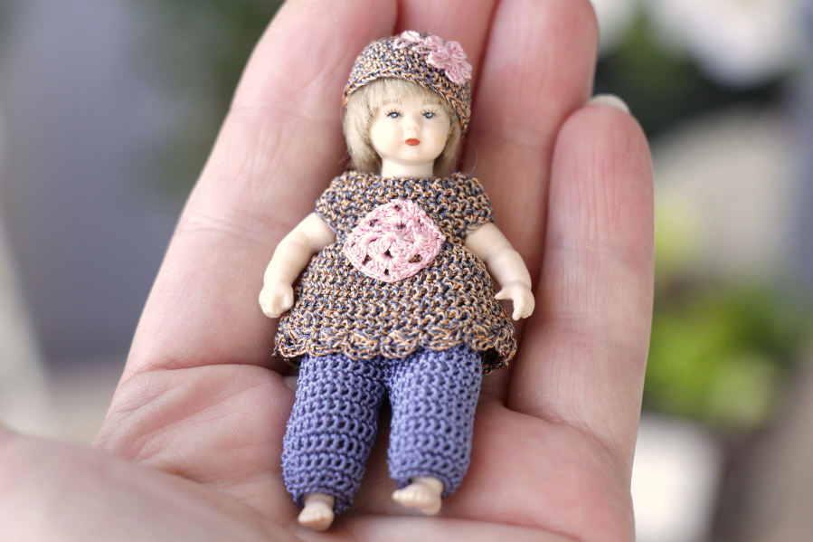 Heidi Ott miniature dolls