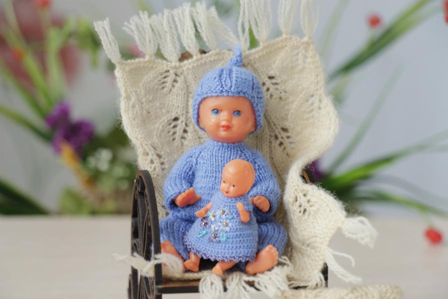 Doll of flea market