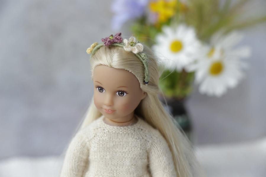 headband ag mini doll