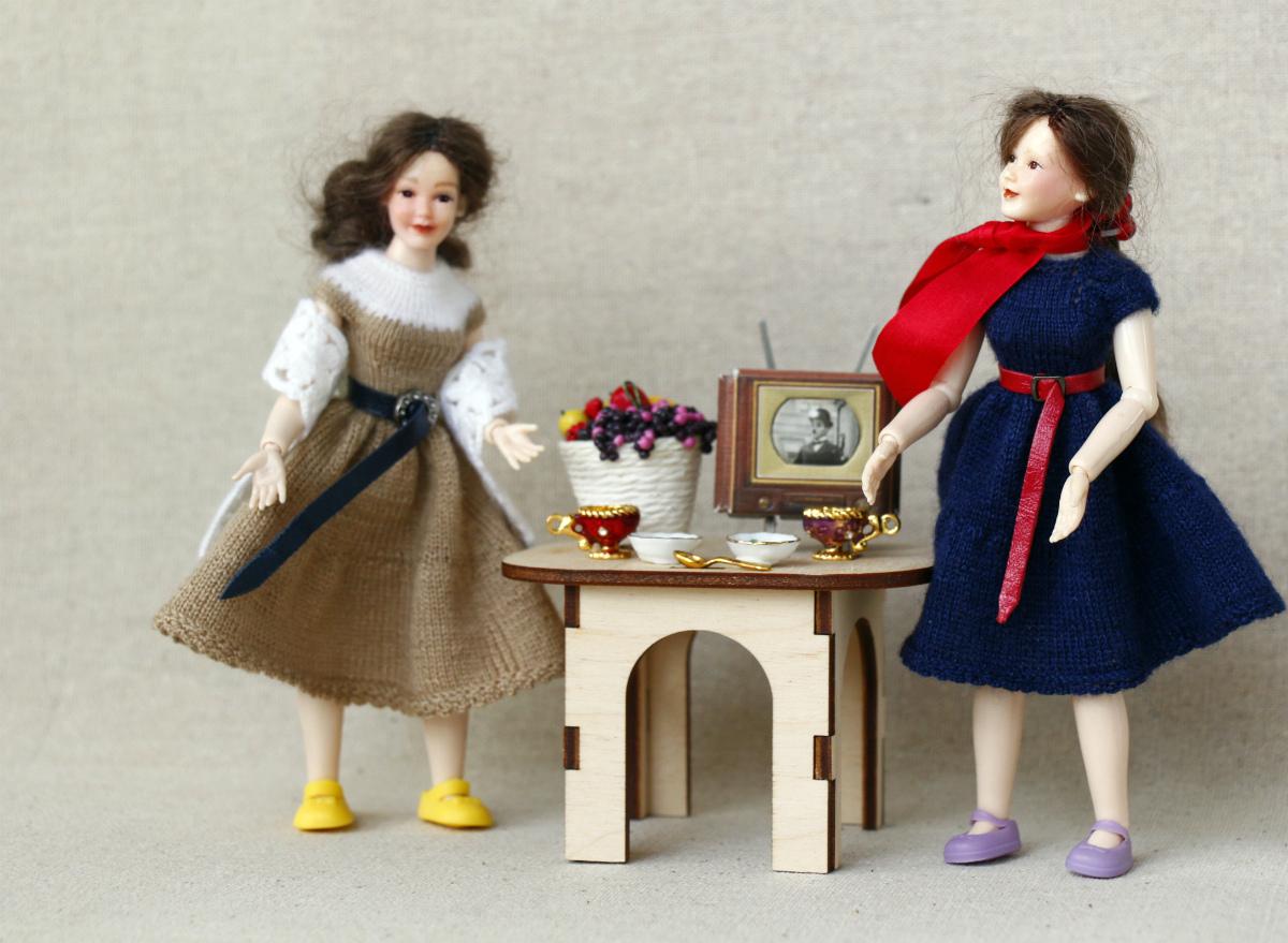 Heidi Ott lady dolls fashion 1950's.