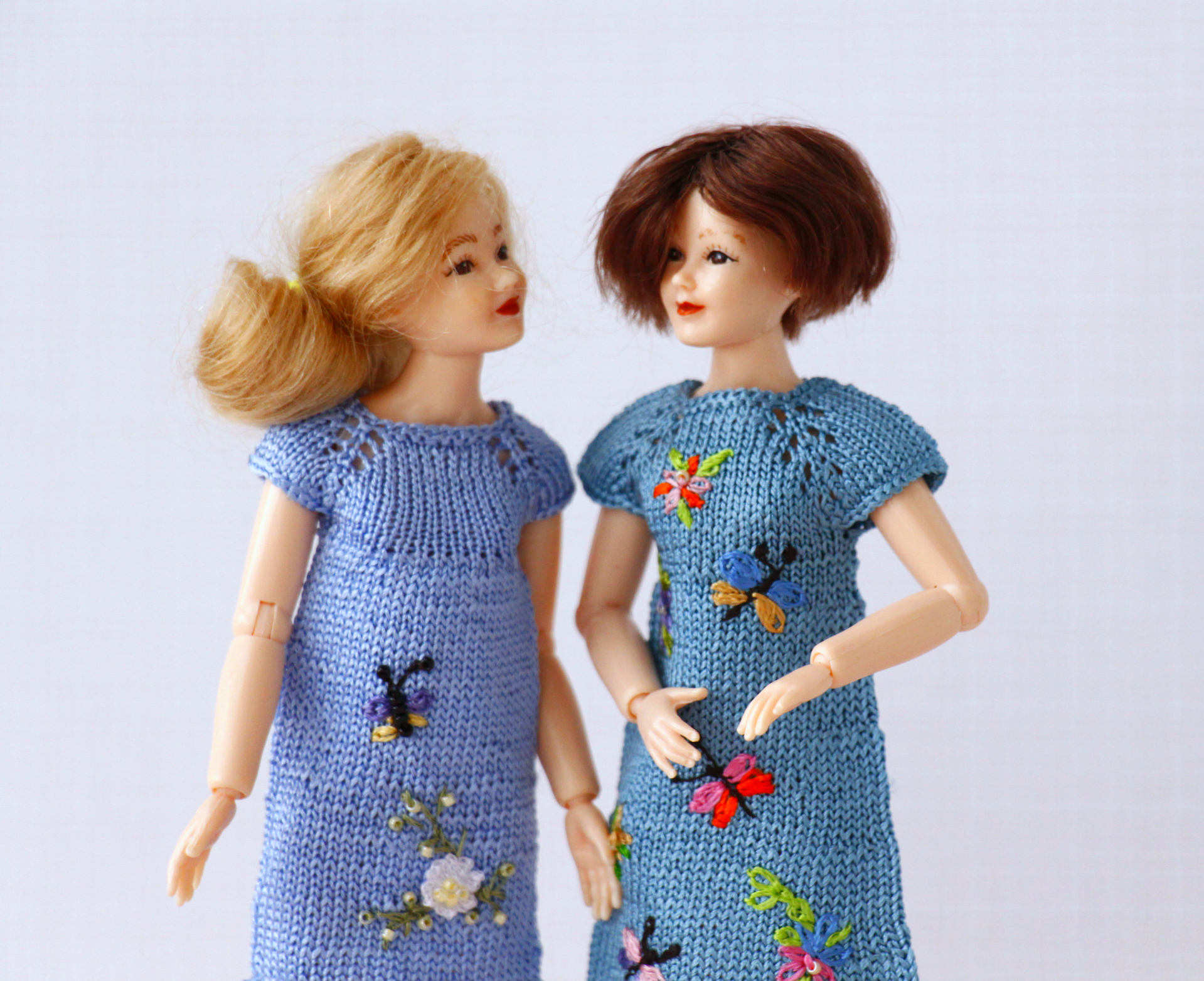 Minimalism fashion 60s for Heidi Ott dolls